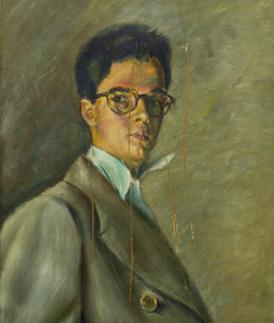 Autorretrato 1953 (Fundación Pérez Piñero)